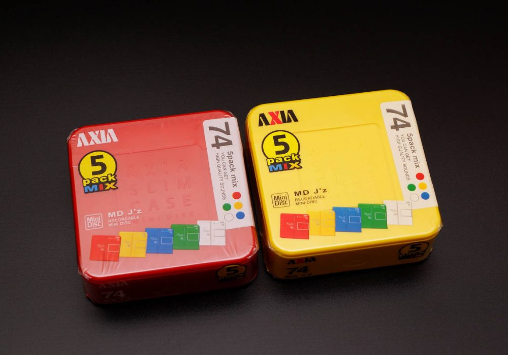 AXIA J'z 5 PACK MIX MD DISC