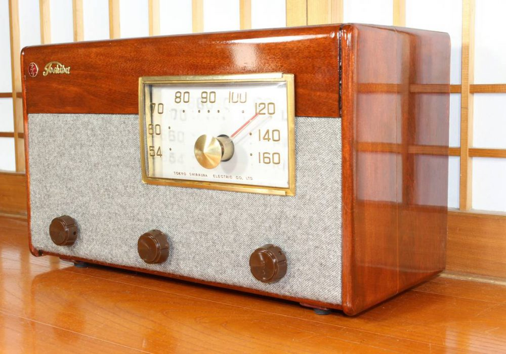 Toshiba 513D 电子管收音机