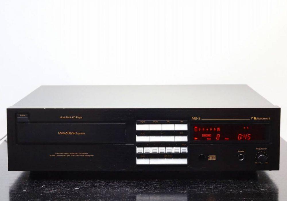 Nakamichi MusicBank MB-2 CD播放机