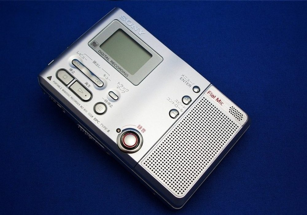 SONY MZ-B10 MD随身听