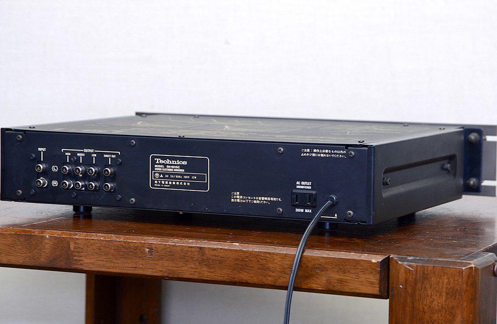 動作品 Technics テクニクス SH-9015C クロスオーバーネットワーク/チャンネルデバイダー