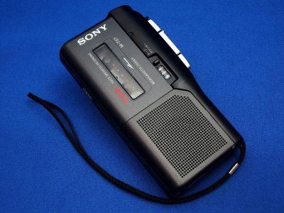 SONY M-727 磁带录音机 采访机