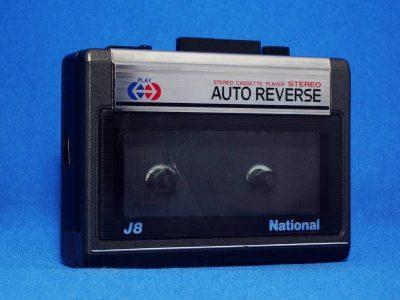 National RQ-J8 磁带随身听