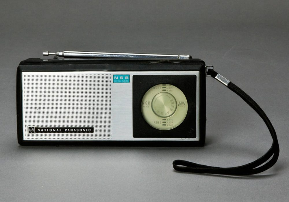 National Panasonic MODEL R-201 收音机