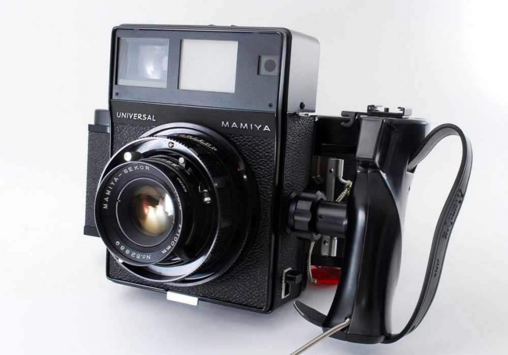 Mamiya Universal 100mm 胶片相机