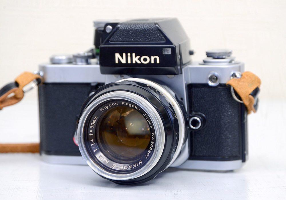 Nikon F2 胶片相机 + NIKKOR-S 50mm F1.4