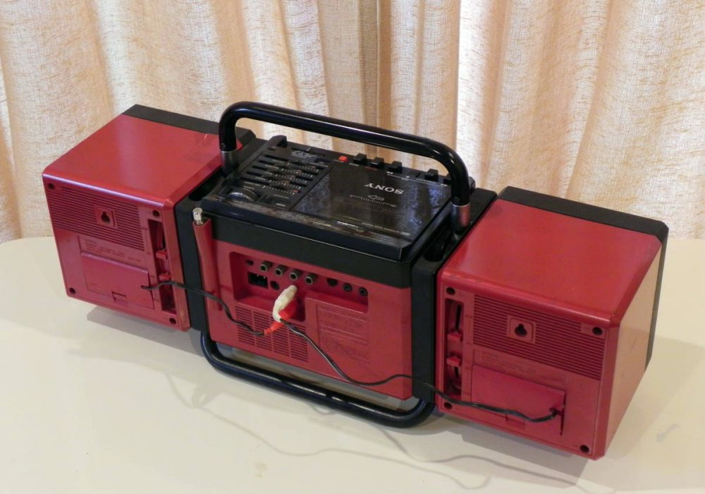 SONY CFS-700 CUBLIC 收录机
