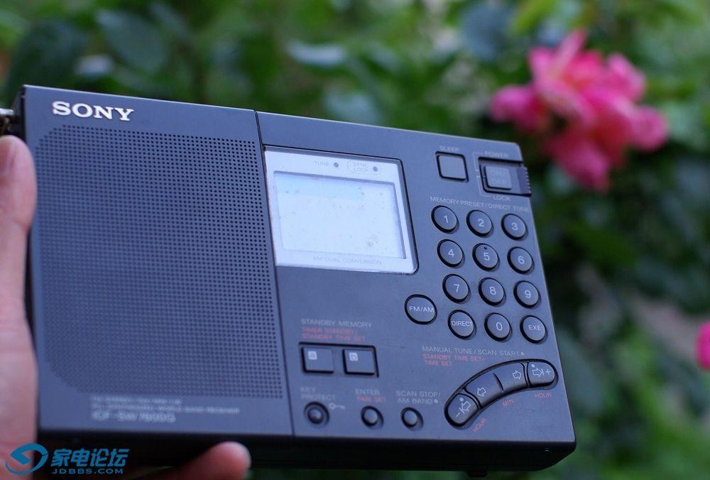 索尼 SONY SW-7600G 收音机