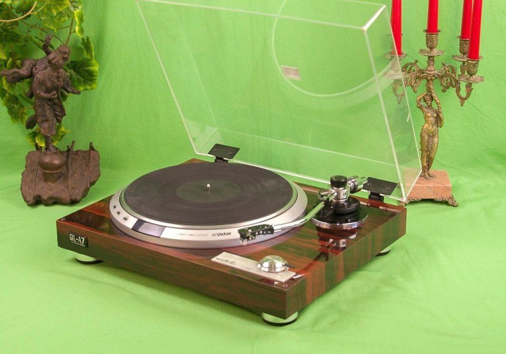 Victor QL-A7 Quartz-Locked Direct-Drive 黑胶唱机