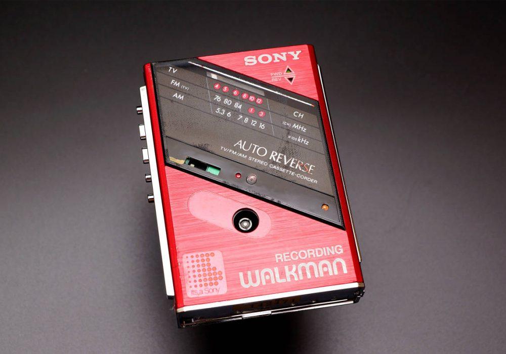 SONY WM-F202 TV/FM/AM/ WALKMAN 磁带随身听
