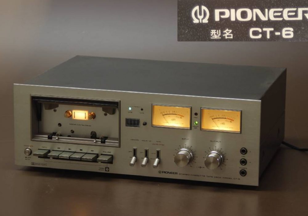 PIONEER CT-6 卡座