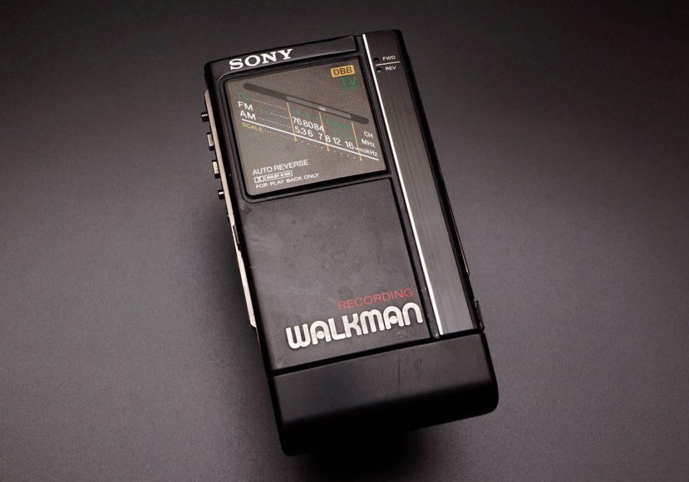 SONY WM-F404 TV/FM/AM/ WALKMAN 磁带随身听
