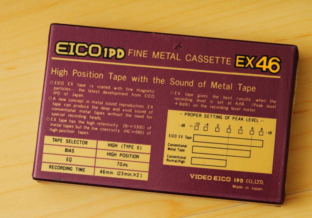 EICO EX46 小开盘 空白磁带