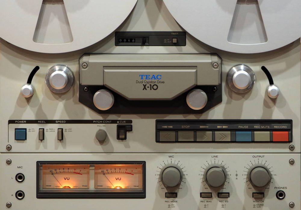 TEAC X-10 开盘机