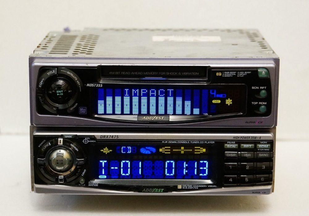 ADDZEST DRX7475 & ADDZEST MDS7355 车载播放机