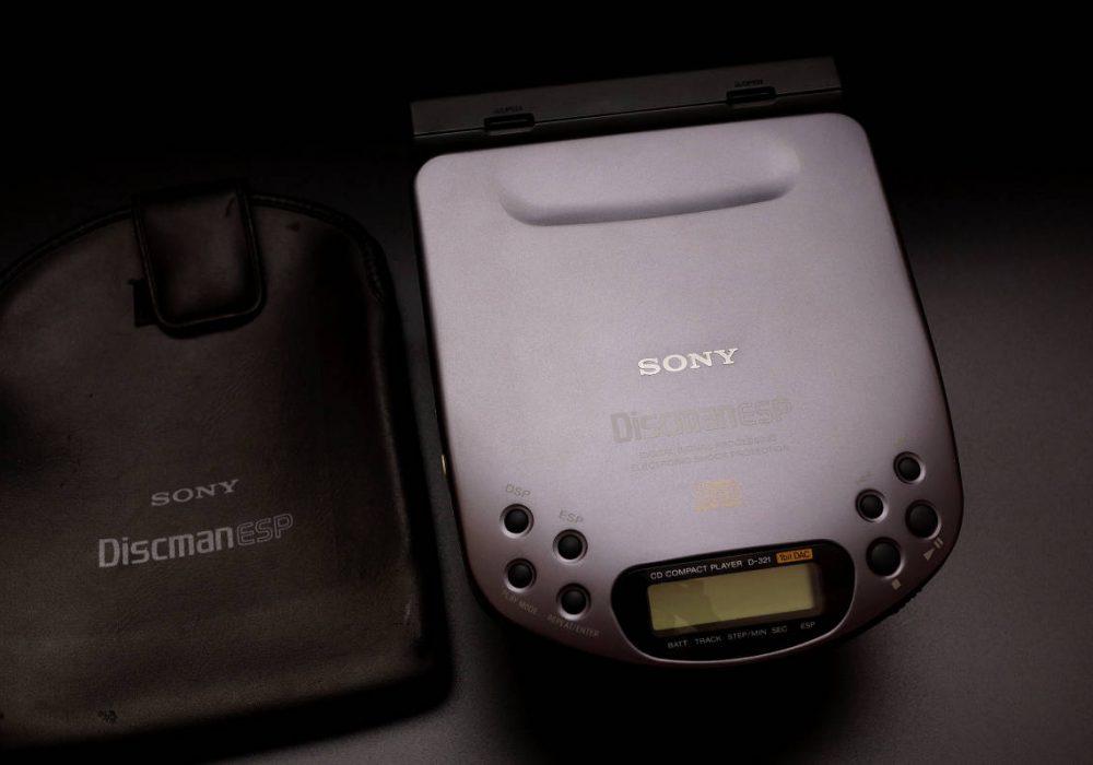 SONY D-321 Discman CD随身听