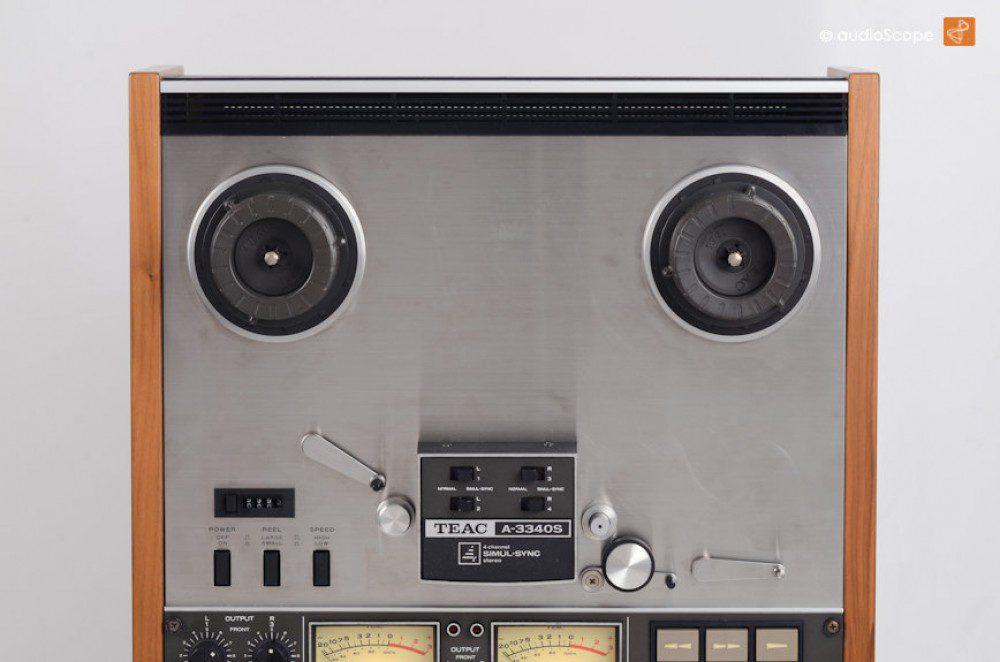TEAC A-3340S 开盘机
