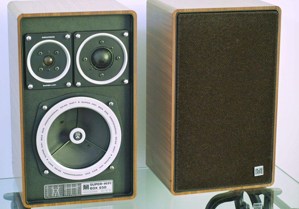 Grundig Box 650 3分频 书架音箱