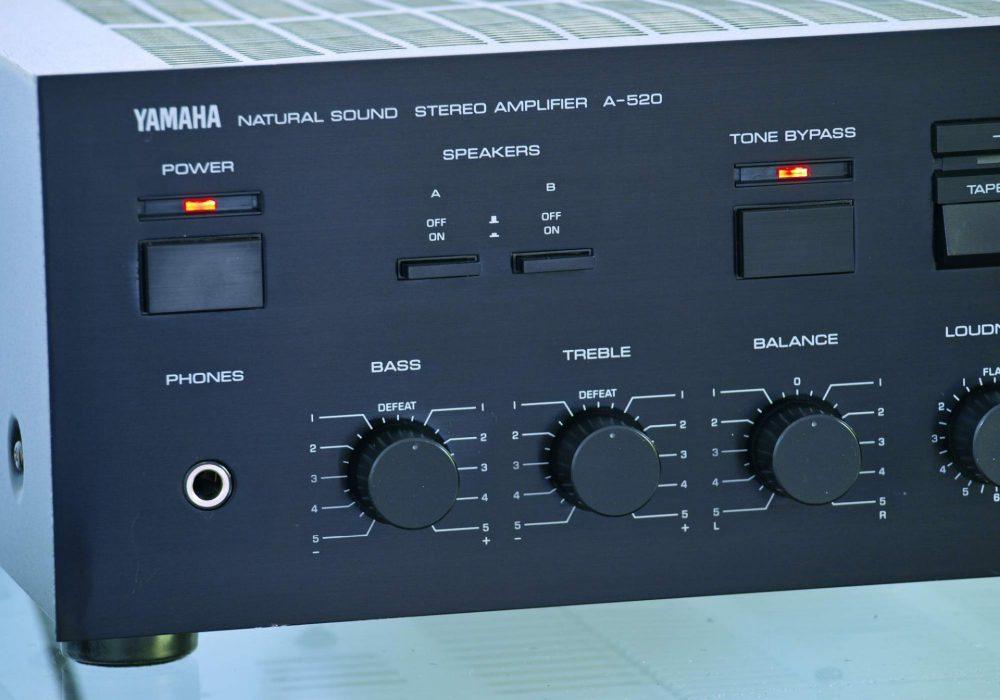雅马哈 YAMAHA A-520 功率放大器