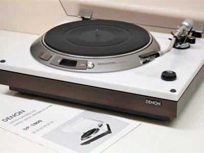 DENON DP-1800 黑胶唱机
