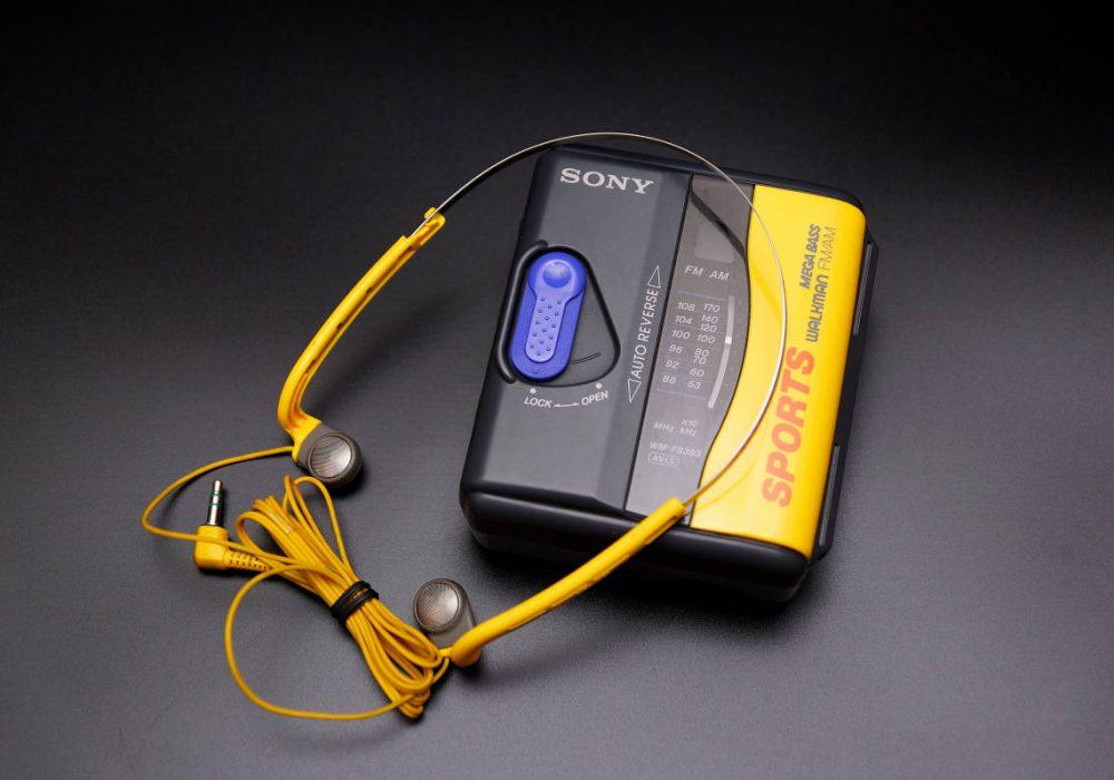 SONY WM-FS393 WALKMAN + MDR-W07 耳机