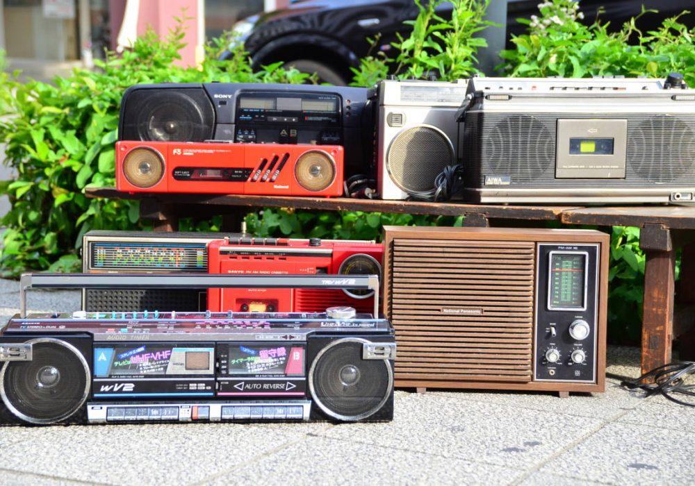 一些收录机