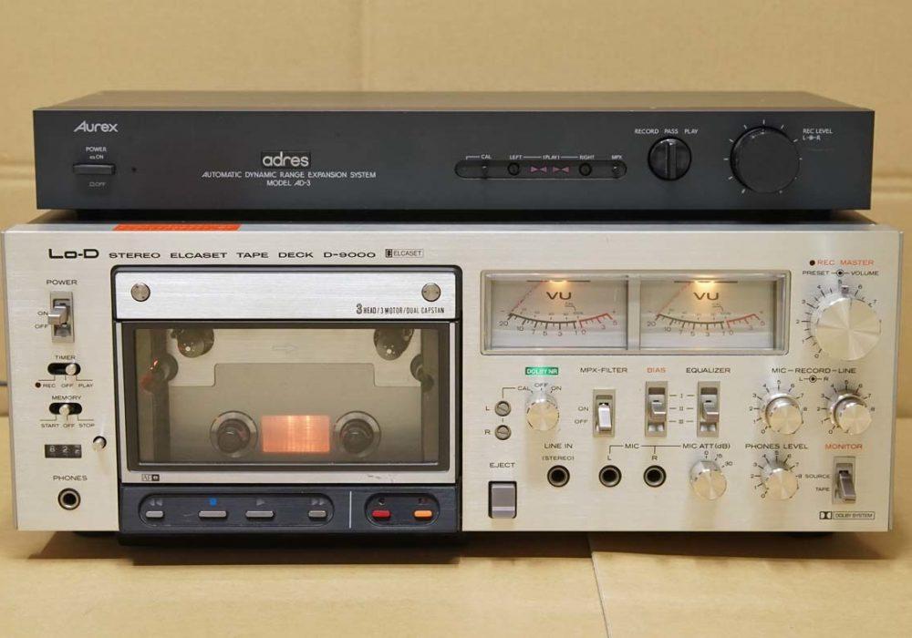 日立 LO-D D-9000 ELCASET 卡座