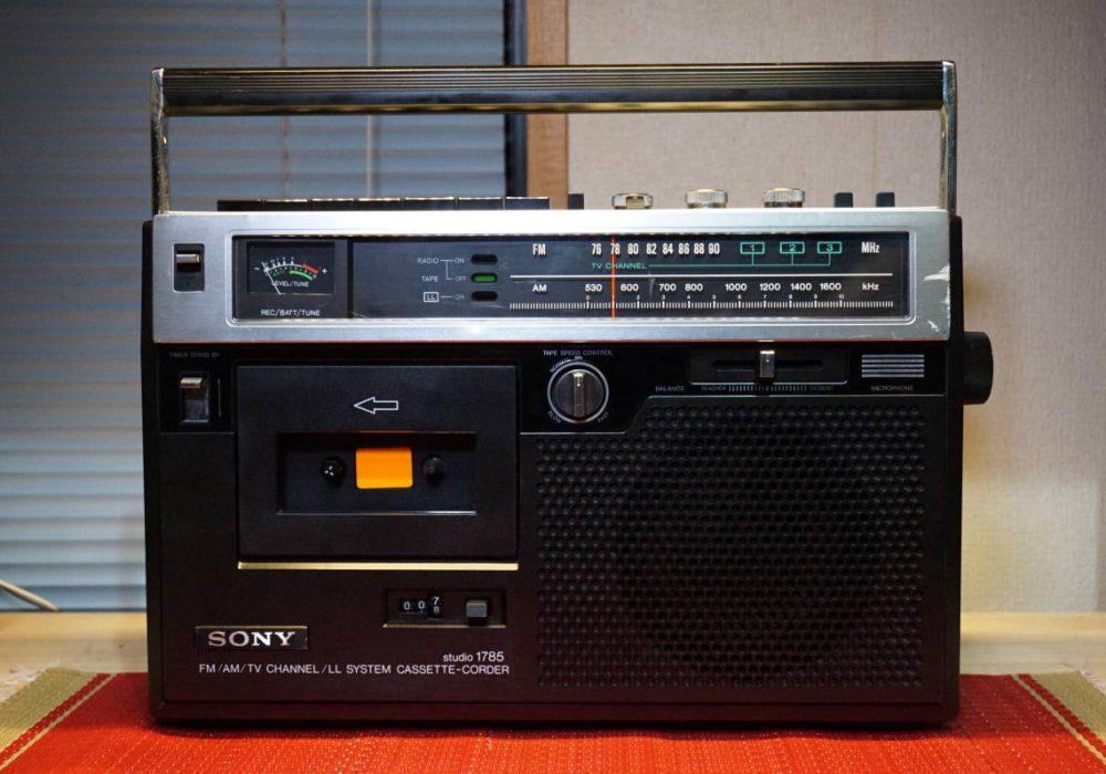 SONY CF-1785 收录机
