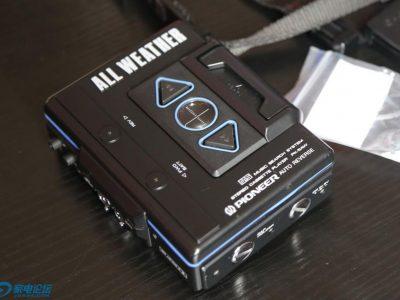 PIONEER PK-5AW 磁带随身听