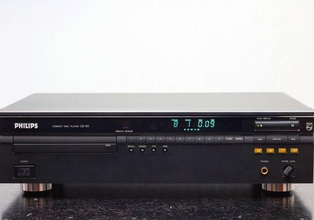 PHILIPS CD-60 CD播放机