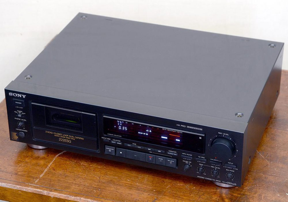 SONY TC-K222ESG 卡座