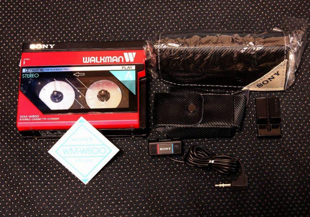 SONY WM-W800 磁带随身听