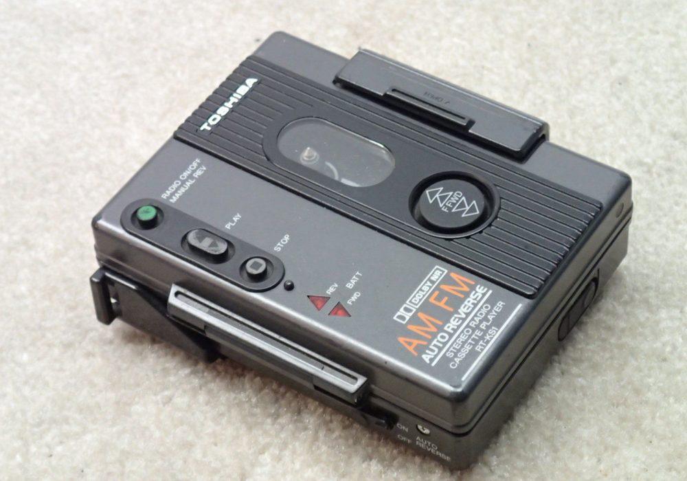 Toshiba RT-KS1 AM/FM 磁带随身听