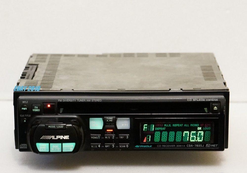 ALPINE CDA-7835J 车载CD机