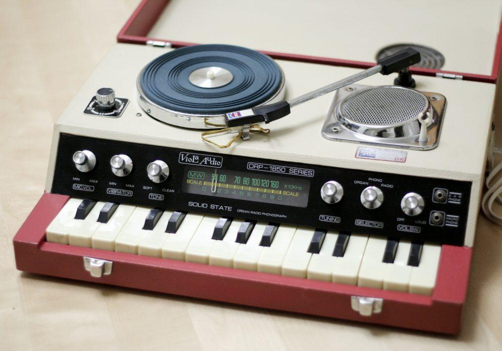 Viola Audio ORP-1850 Series - Solid State Organ Radio Phonograph