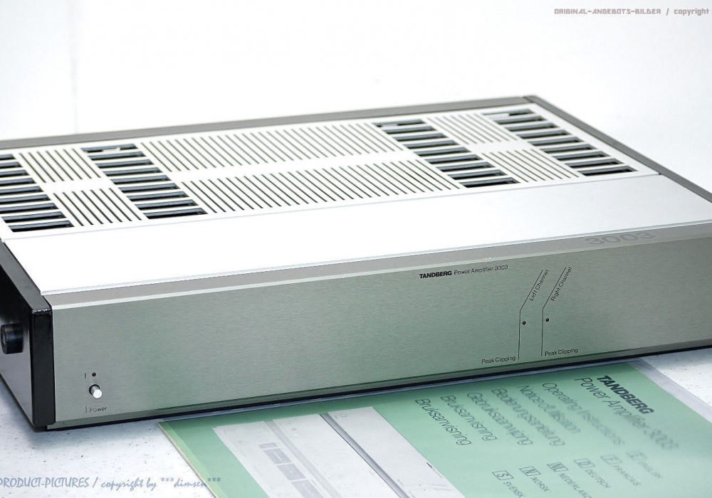 TANDBERG TPA 3003 High-End 功率放大器