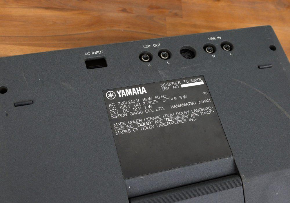 雅马哈 YAMAHA TC-800GL 卡座