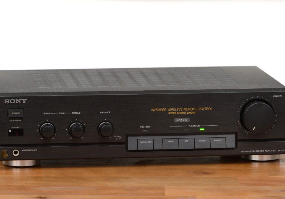 索尼 SONY TA-F117R 功率放大器