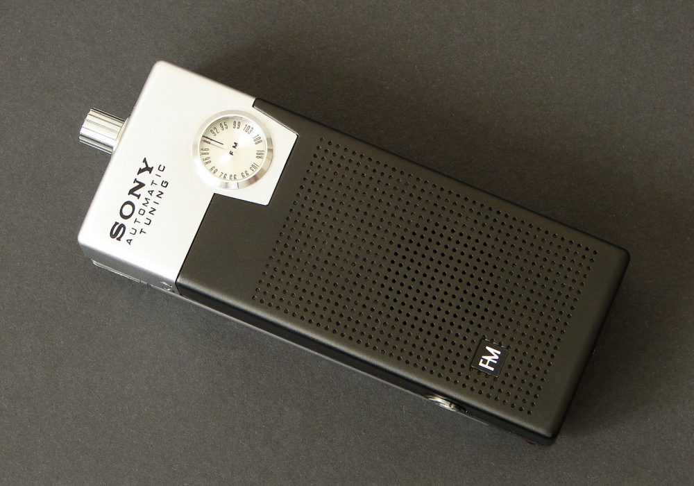 索尼 SONY 2FA-24W FM 迷你收音机