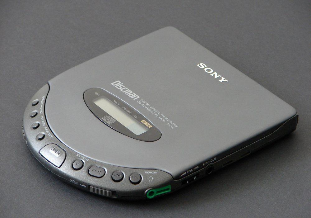 索尼 SONY D-311 Discman CD随身听