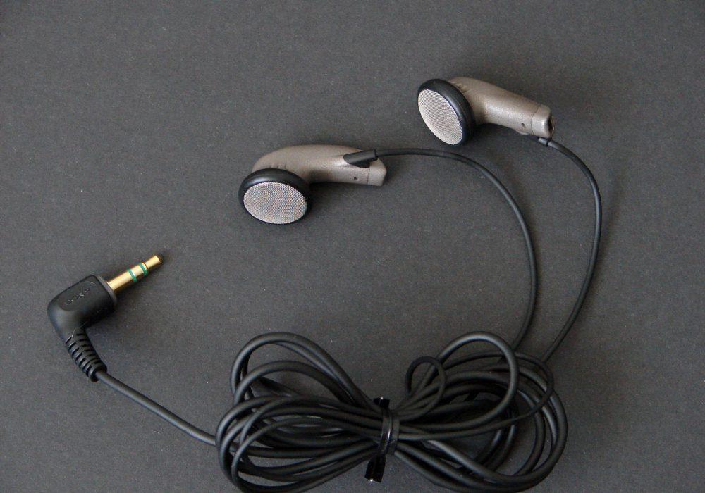 索尼 SONY MDR-E575 平头耳机