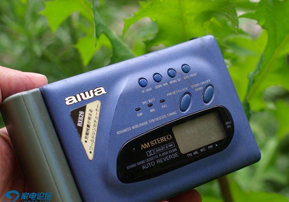 aiwa HS-RX626 磁带随身听