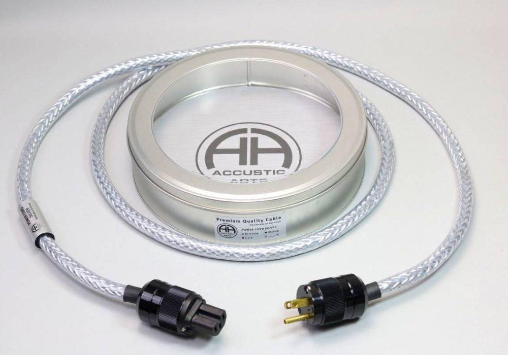 ACCUSTIC ARTS POWER CORD SILVER 电源线