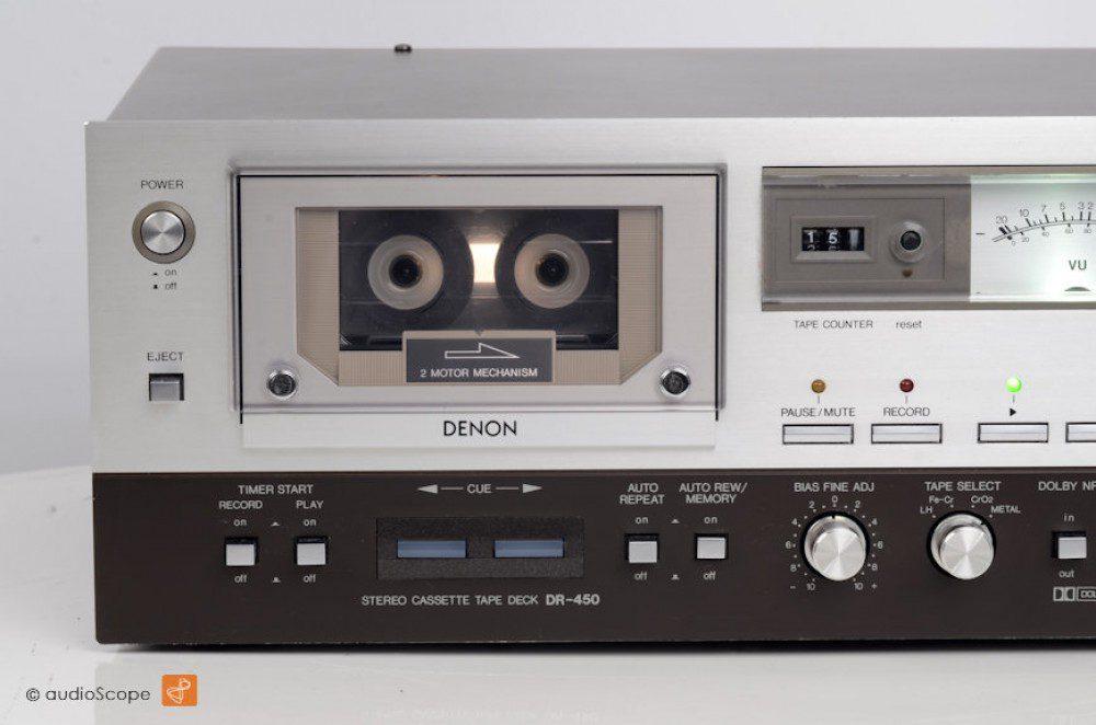 天龙 DENON DR-450 卡座
