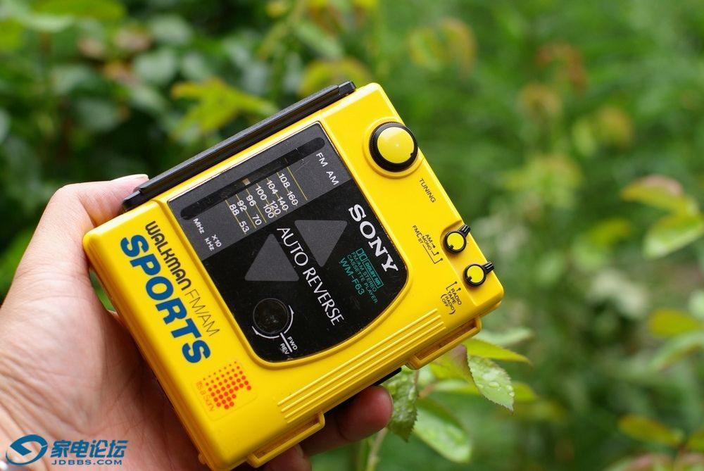 索尼 SONY WM-F63 磁带随身听
