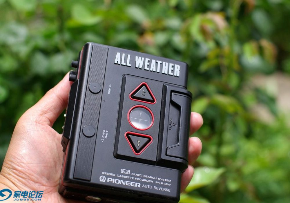 先锋 PIONEER PK-7AW 磁带随身听
