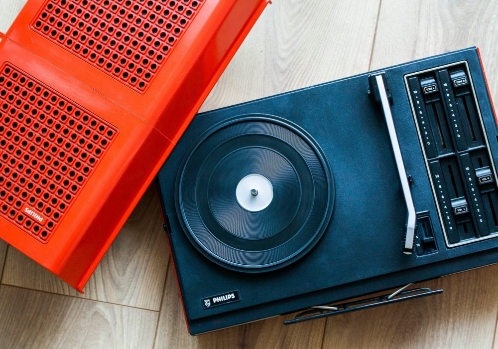Philips Stereo 623 黑胶唱机