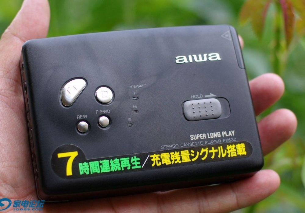 aiwa PX630 磁带随身听