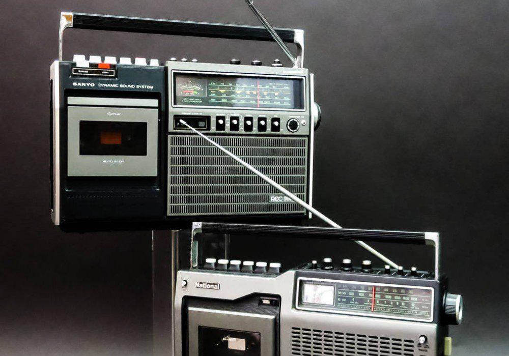 National RQ-448 / SANYO MR-8000, MR-G308 MR-G306 / COLUMBIA RN747 收录机