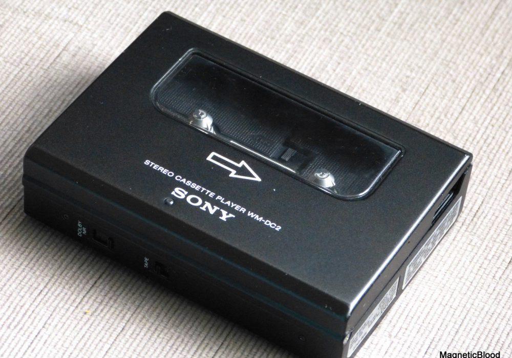索尼 SONY WM-DC2 磁带随身听
